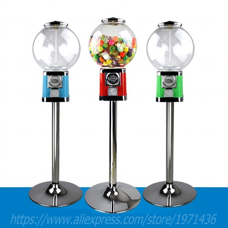 Guangzhou Factory Small Coin Operated Games Capsules Gumball Toy Balls Vending Machine