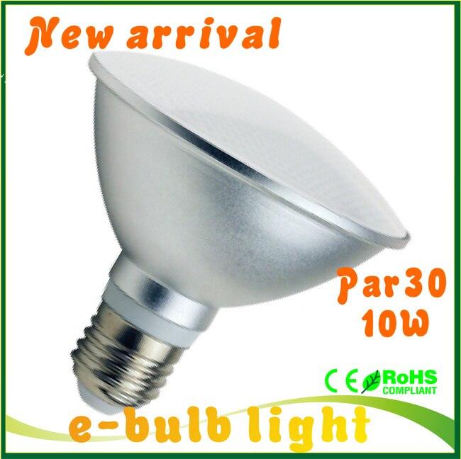 high bright bombilla led par30 bulbs e27 10w led dimmable lamp par 30 downlight spot lights. Black Bedroom Furniture Sets. Home Design Ideas