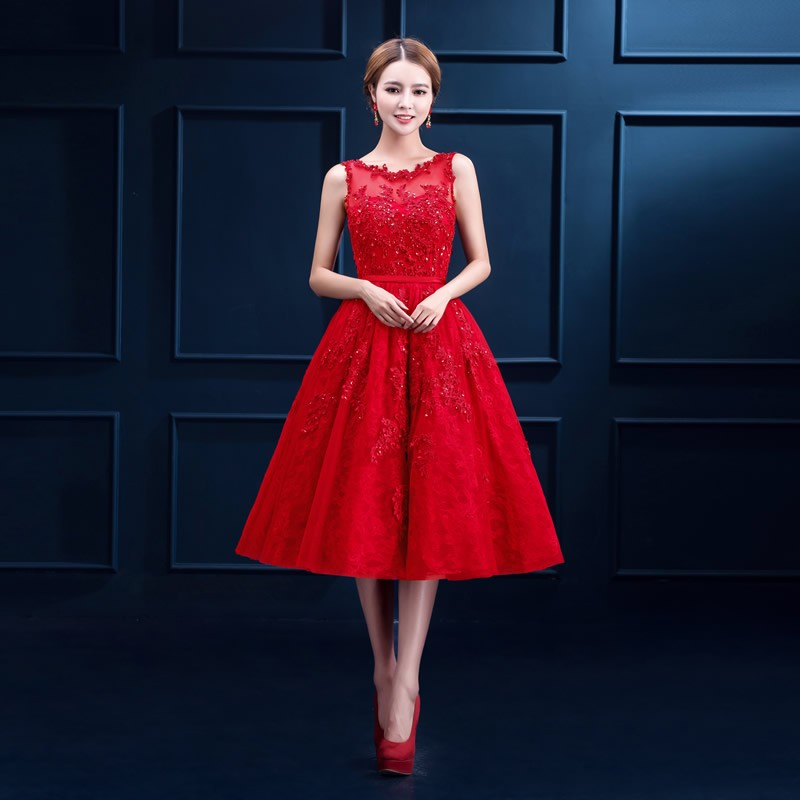 2016-Robe-De-Soiree-New-Wine-Red-Lace-Embroidery-Sleeveless-A-line-Evening-Dresses-Bride-Banquet
