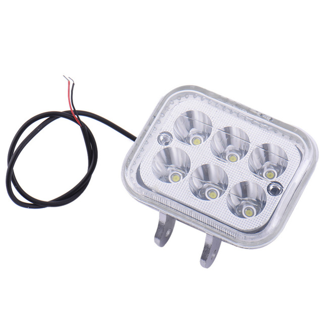 DC12-14V Motorcycle LED Headlight Electric Car Spotlights  Aluminum Alloy Modified Car Lights Car Accessories Whire Light