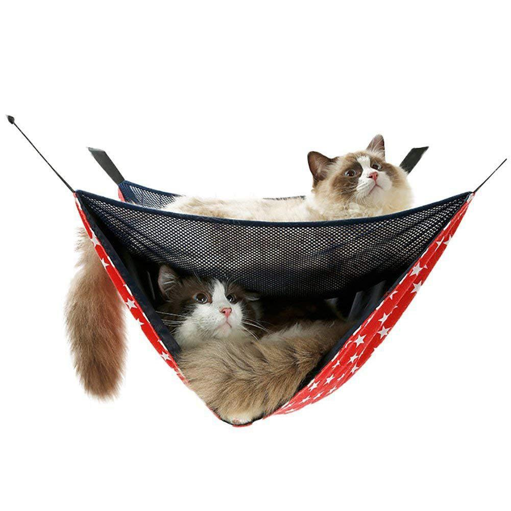 Home & Garden Hard-Working Adeeing Pet Summer Breathable Mesh Hammock Swing Hanging Bed For Cat Small Dogs Mouse Comfortable Feel