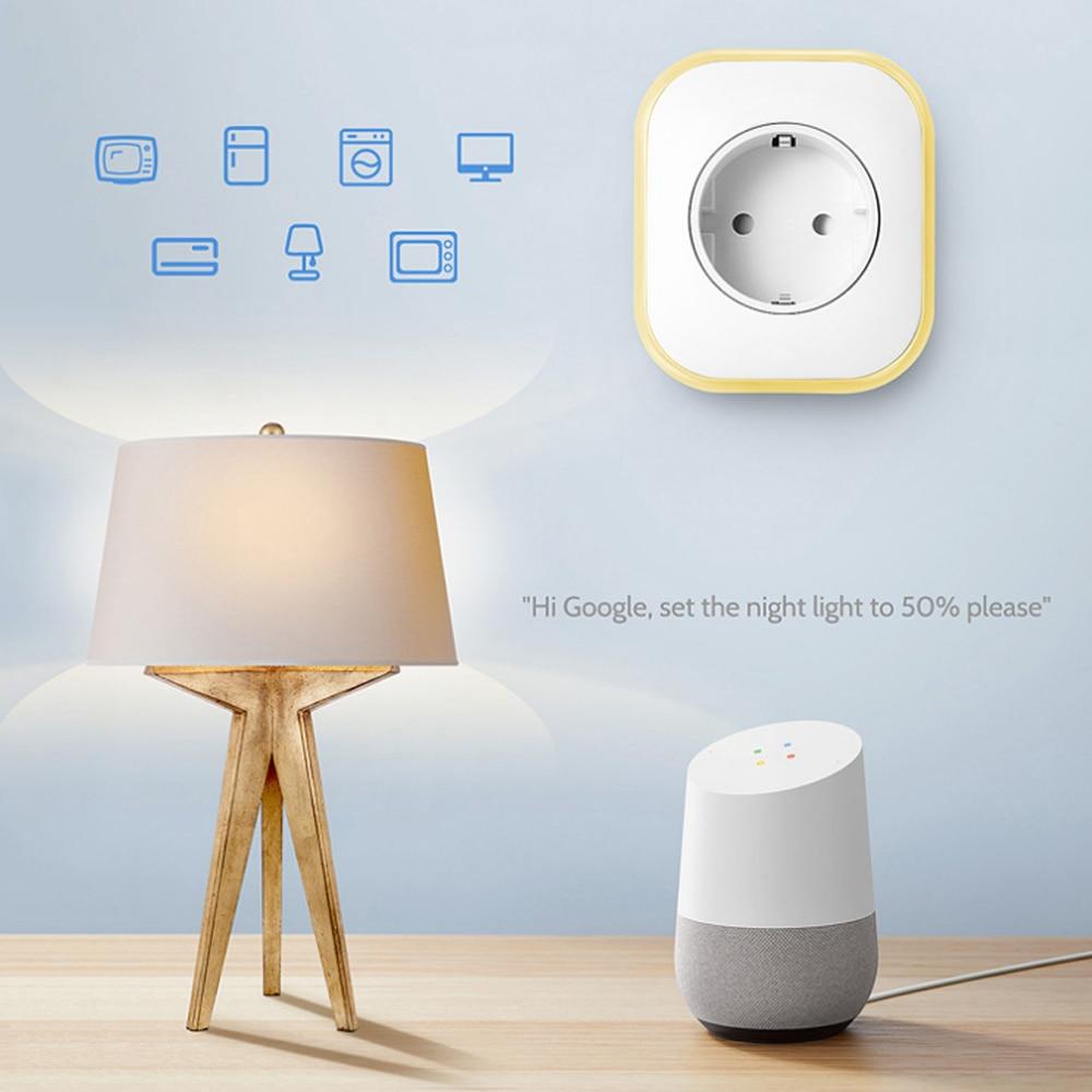 Temporização Interface USB Plug Padrão do Google casa IFTTT