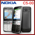 C5 Original Unlocked Nokia C5-00 cell phone 3.15MP 3G Bluetooth  with Free shipping