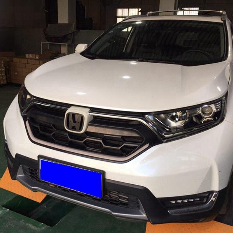 For Honda CRV 2017 SUV High Performance Racing Sport Grill FOR CRV 2017 ABS Chrome Material Grill Part оплетка руля honda crv