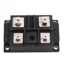 цена на 1Pcs Single-Phase Rectifier Module Diode Bridge Rectifier 400A 1600V High Power 4 Terminals