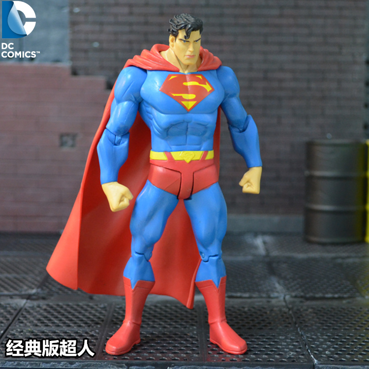 """DC Direct Superman Collectibles Action Figure 7/"""" loose"""