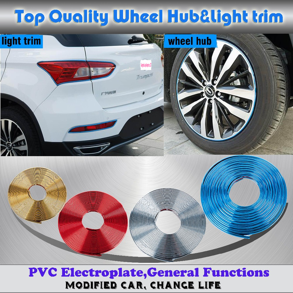 ᐊ8M PVC Decal Moulding cover rim ring rubbing scratch-proof bumper ...