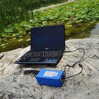 Для 18 В, 19 В, 20 В Ноутбуки 10AH lipo аварийного Мощность питания с 5 В USB понижающий преобразователь и 10 вилки и зарядное устройство Бесплатный