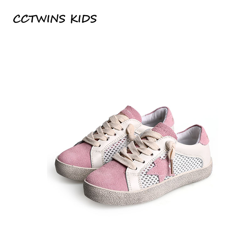CCTWINS KIDS 2018 Summer Baby Boy Star Sneaker Children Mesh Breathable Casual Shoe Girl Fashion Sport Trainer FSL2233