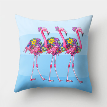 Hawaii Flamingo Decorative cushion 1
