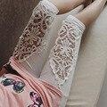 5xl плюс размер брюки женские летние стиль 2016 эластичный пояс 7 минут брюки женские выдалбливают черный белый кружева брюки женские A0746
