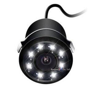 Image 5 - Koorinwooパークトロニック駐車場センサーナイトビジョン 8 ledライト車のリアビューカメラ 4.3 インチ折りたたみモニター画面デジタル