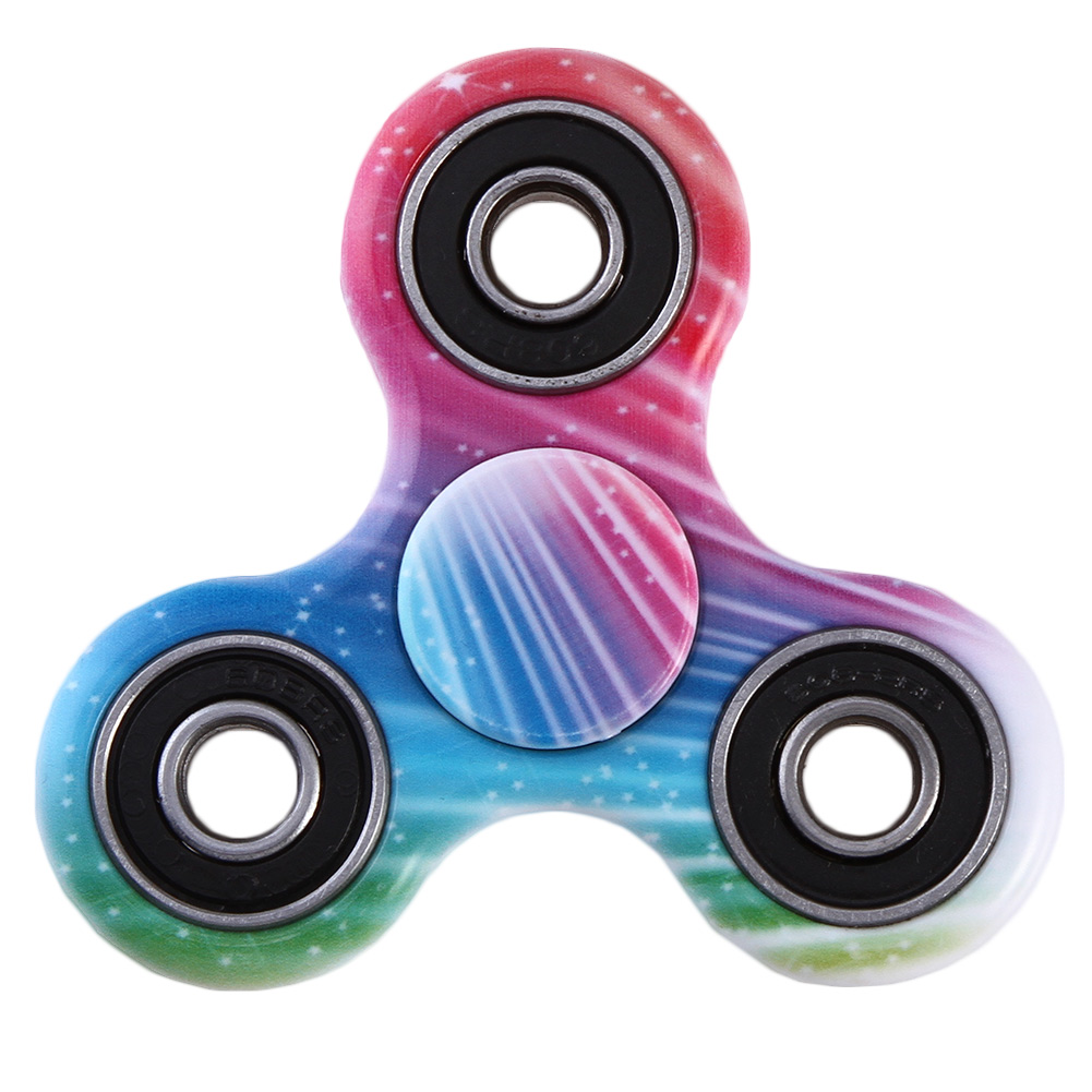 Hot Selling ABS Plastic Finger Spinner Fidget CUBEFor Autism and ADHD Relief Focus Anxiety Stress Gift