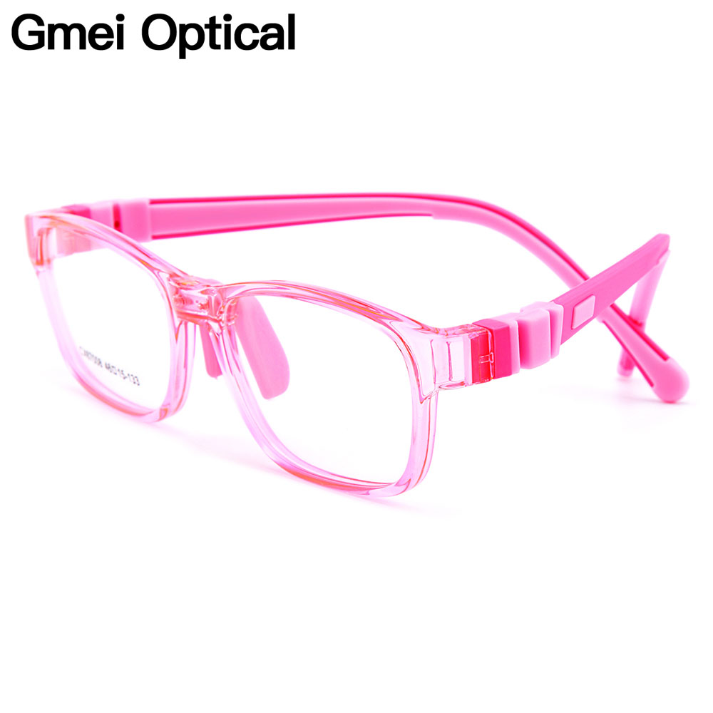 Gmei Optical New Safe Kids Glasses Ultra-light Flexible TR90 Silica Gel Comfortable Full Rim Kids Eyeglass Frames CX67008 ...