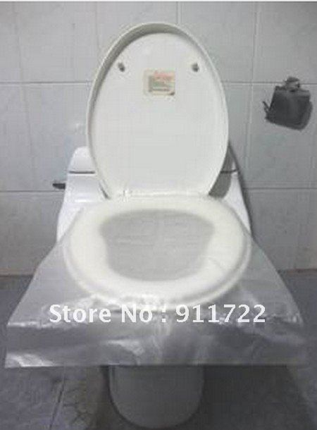 wholesale reusable disposable toilet seat covers nonslip non water soluble isolation 6pcs
