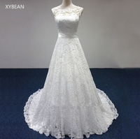 Cheap price 2017 new free shipping cap sleeve lace sashes a line white ivory wedding dresses.jpg 200x200