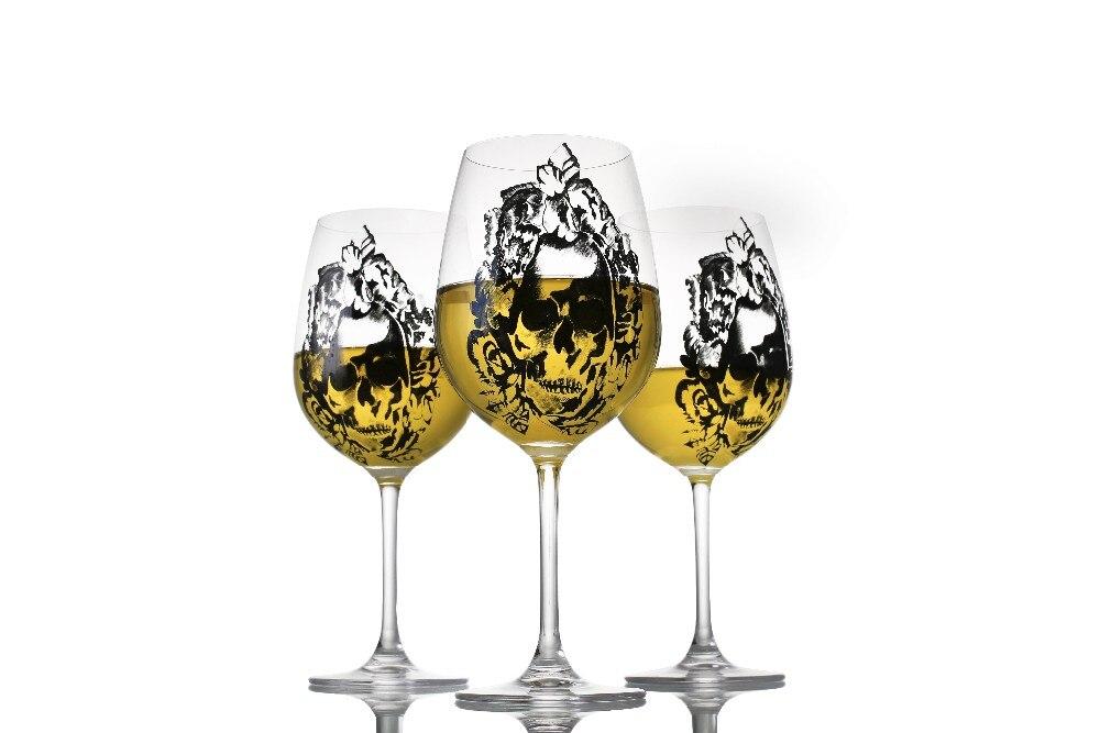 Aukštos kokybės krištolo vyno taurė su deimantų taurele - Virtuvė, valgomasis ir baras - Nuotrauka 4