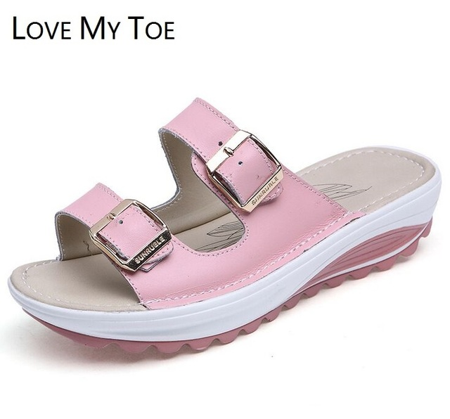 517f167e9ef8 Cow Split Genuine Leather 2017 New Gladiator Women s Sandals Beach Ladies  Trainers Chaussure Femme Shoes For Women Zapatos Mujer