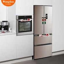 3PCS/LOT Snowman Kitchen Appliance Handle Covers Christmas Decoration For Home Accessories Xmas Deals