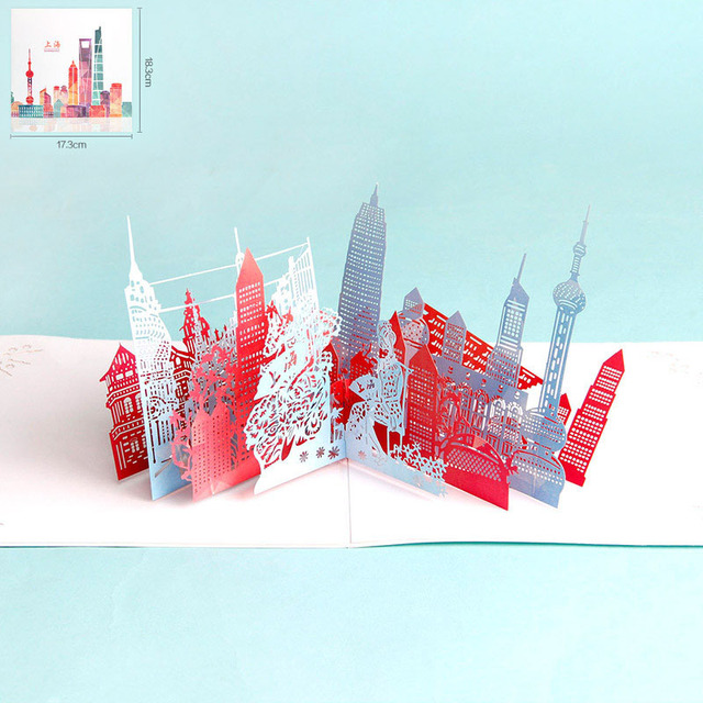 3d laser cut handmade color print china shanghai beijing hongkong 3d laser cut handmade color print china shanghai beijing hongkong greeting card business tourism creative gift colourmoves
