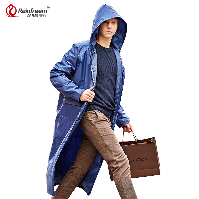 find lowest price newest newest selection US $21.31 64% OFF|Rainfreem Impermeable Raincoat Women/Men Waterproof  Trench Coat Poncho Single layer Rain Coat Women Rainwear Rain Gear  Poncho-in ...