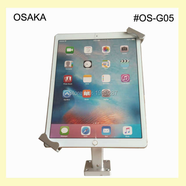 US $39 0  10 to 13 inch android tablet wall mount with secure holder  mounting on table or desk for Surface Pro 12 inch for iPad Pro-in Tablet  Stands