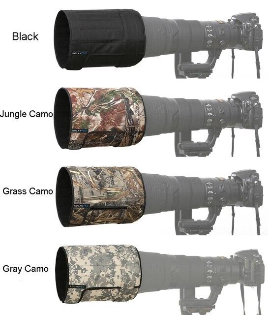 ROLANPRO Objektiv Haube Teleobjektiv Klapp Haube für Canon Nikon Sigma Tamron 400mm f/2,8, 600mm f/4, 800mm f/5,6 SLR (L)