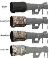 ROLANPRO pare-soleil téléobjectif pare-soleil pliant pour Canon Nikon Sigma Tamron 400mm f/2.8, 600mm f/4, 800mm f/5.6 SLR (L)