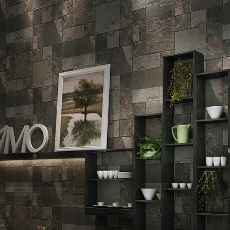 retro piedra ladrillo wallpaper d saln pared del dormitorio papel cultural de piedra pared de