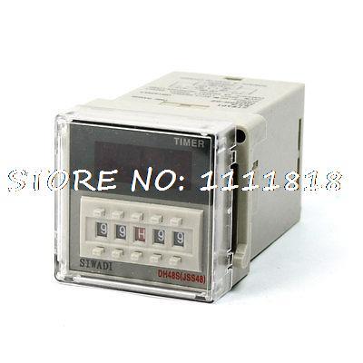 DH48S-2Z 0.01s-99h99m DC24V 4 Digit Digital Display Timer Time Relay schneider time relay rexl4mbd dc24v