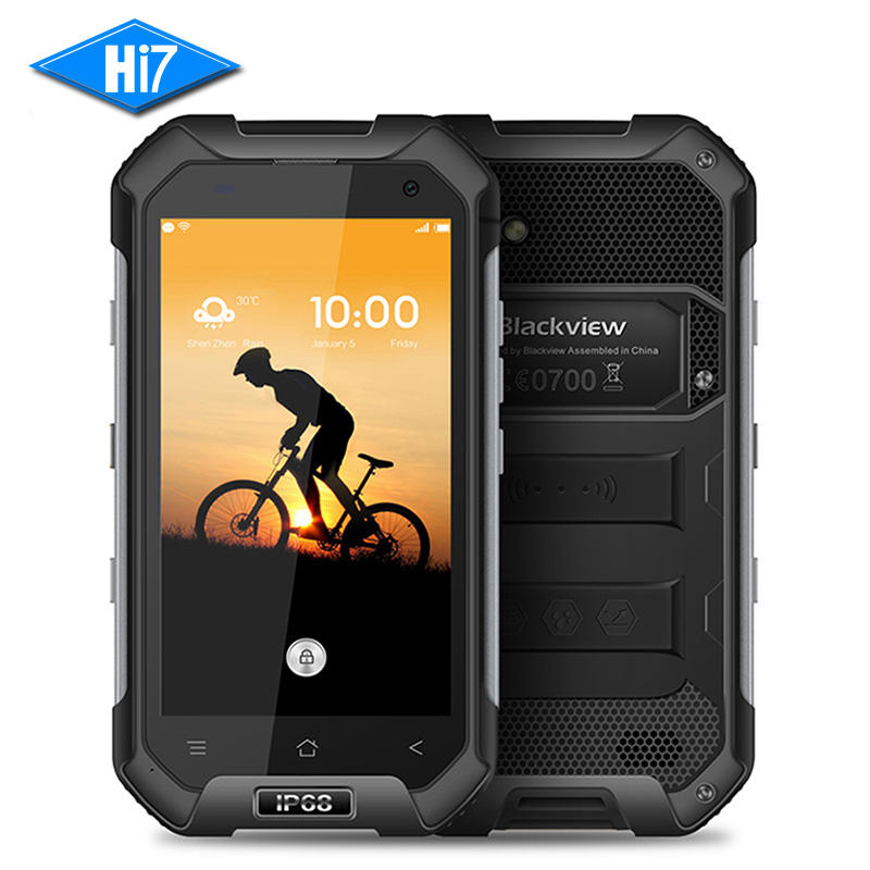NEW Original Blackview BV6000S Mobile Phone Quad Core Waterproof Smartphone 4 7 Android MT6735 2GB RAM