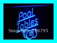 I318 Pool Tables LED Neon Snooker Billiards Light Sign On Off Switch 20 Colors 5 Sizes