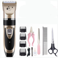 Professional Remover Cutter Grooming Pets Hair Cut Machine Pet Dog Hair Trimmer Rechargeable Low noise Cat Dog Hair Trimmer
