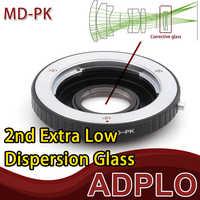 Pixco Optical Adapter Suit For Minolta MD / MC Lens To Pentax PK K-3 K-50 K-5 II K-30 K-01 K-5 K-r K-x K-7 K-m K20D K200D Camera