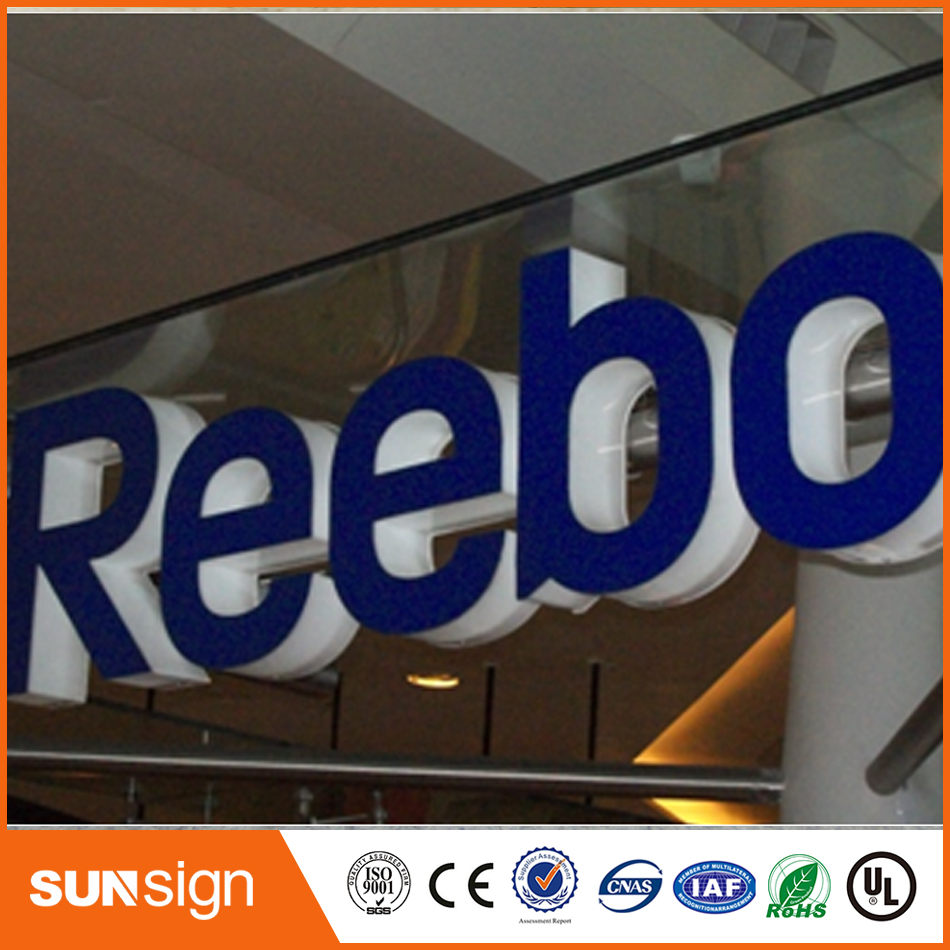 Frontlit 3d Acrylic Led Channel Letter Sign