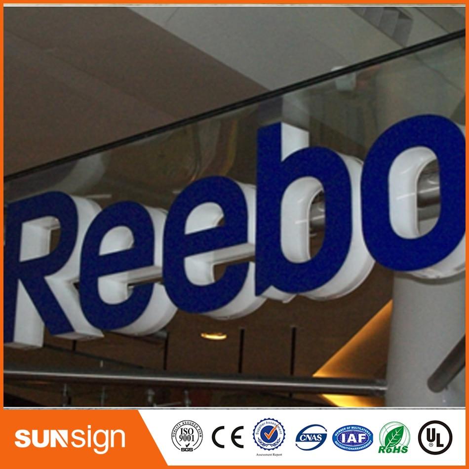 Frontlit 3d Acrylic Led Channel Letter Sign