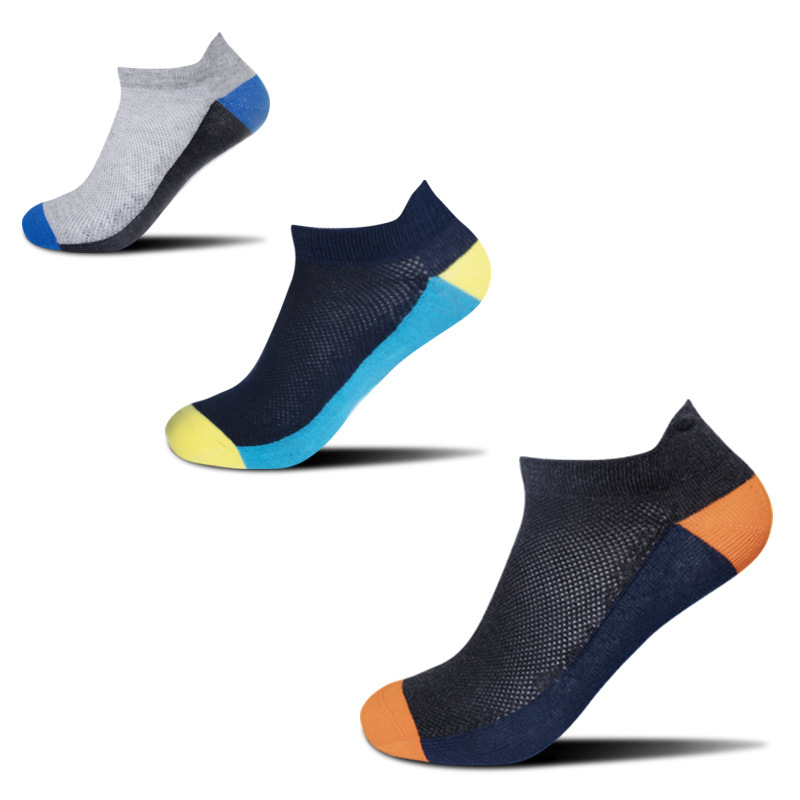 5pairs Large size Men's Sports   Socks   Spring Summer New Mesh Breathable High quality   Socks   anti-friction Casual Big Size   socks