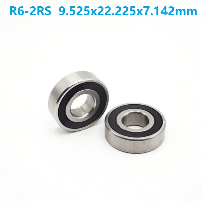 "5//8/"" x 1-3//8/"" x 11//32/"" R10-2RS 5 PCS Rubber Sealed Ball Bearing BLACK R10RS"