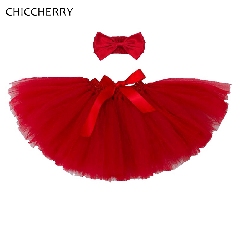 0-2 Years Baby Girl Clothes Christmas Costume Kids Lace Girls Tutu Skirt + Headband Vetement Bebe Fille New Born Infant Clothing
