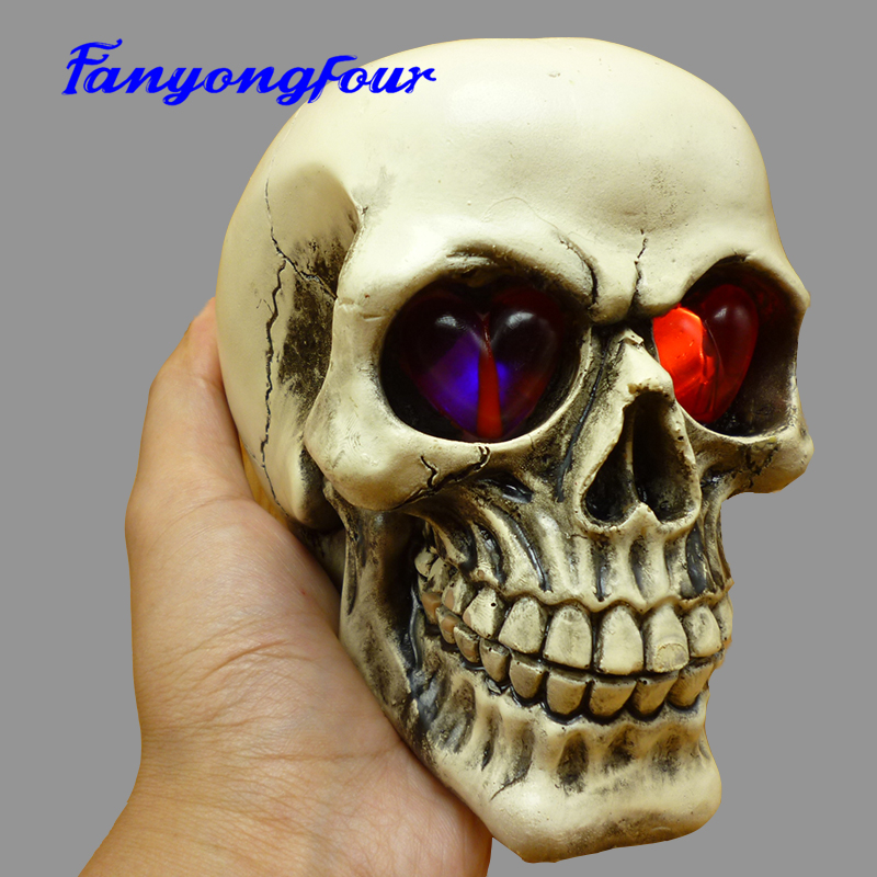 Halloween Skull Cake 3D Mold Sugar Pudding Chocolate Mousse Cake Mold DIY Soap Candle Cement Silicone