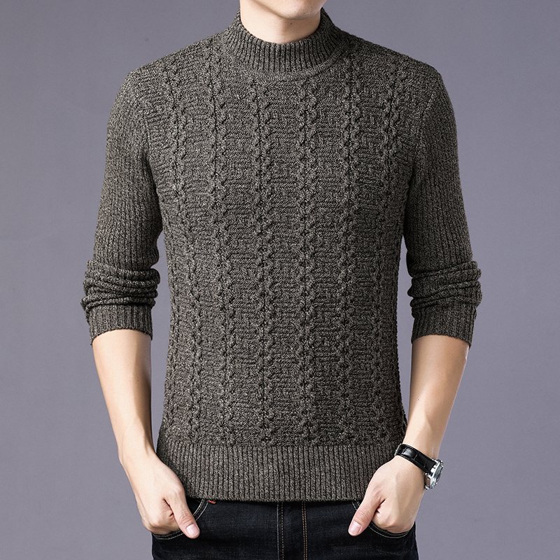 Men Sweater Pullover Men 2018 Male Brand Casual Slim Sweaters Men High Quality hombre O-Neck Men'S Sweater pullover masculino