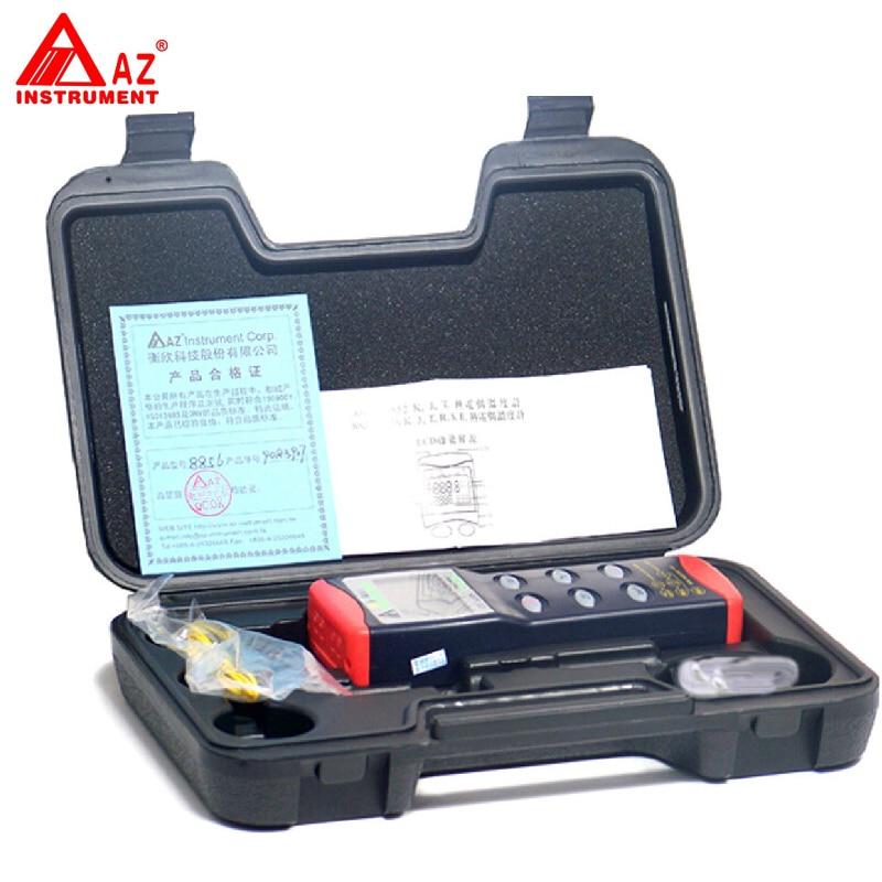 AZ-8855 Digital K/J/T/R/S/E RS232 Thermocouple Thermometer Meter кружка цветная внутри printio s t a l k e r
