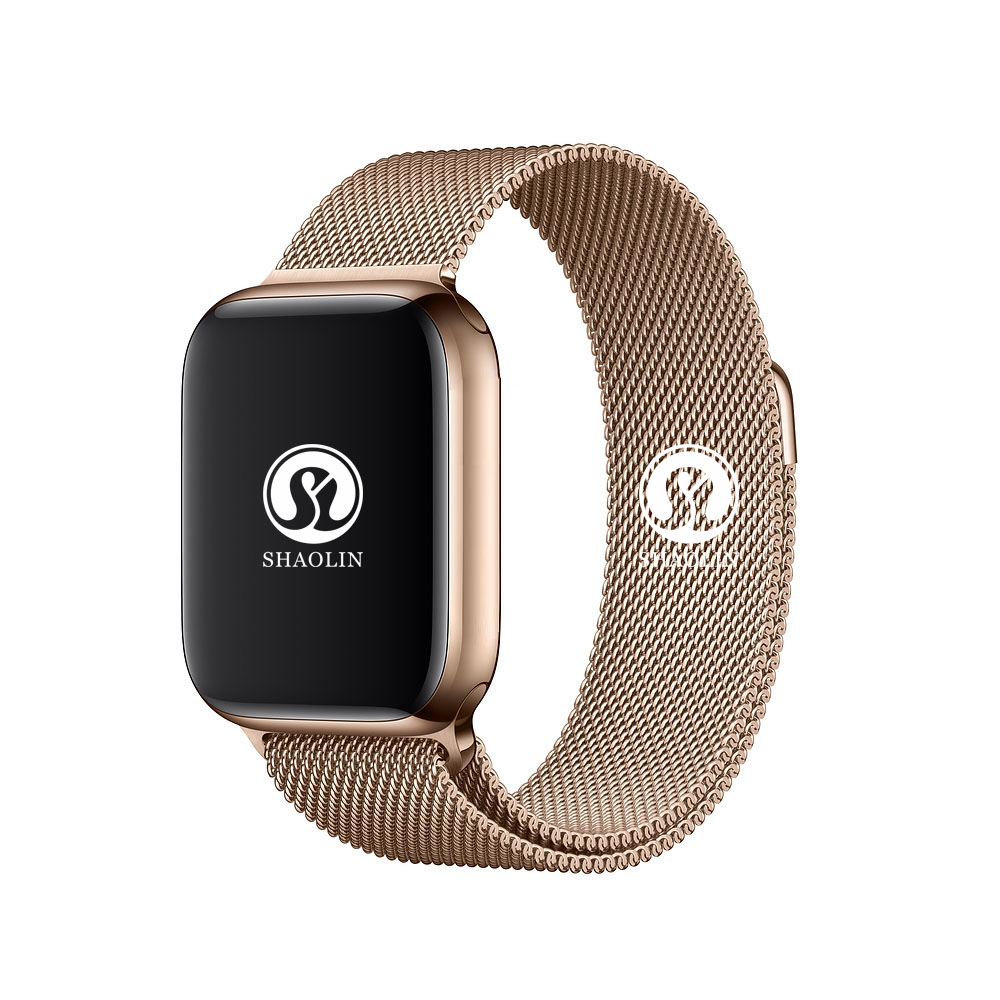 42mm Bluetooth Smart Watch Series 4 <font><b>SmartWatch</b></font> for iOS Android Pedometer Message synchronization <font><b>IWO</b></font> 5 6 <font><b>7</b></font> Upgrade Milanese image