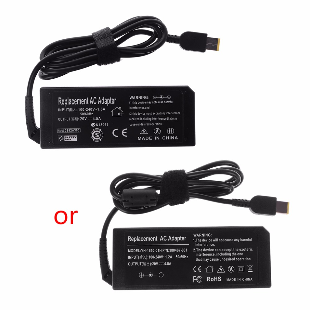 2019 20V 4.5A 90W AC Adapter Battery Charger Power Supply For Lenovo ThinkPad