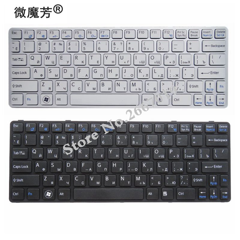 Buy RU Black New FOR SONY SVE 11 SVE11 111A11T 11115CP 11115ECP 11115ECW  Laptop Keyboard Russian for only 13.3 USD