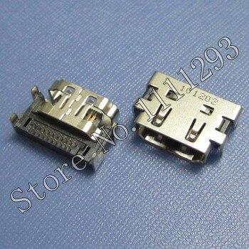 10 unids/lote HDMI conector Jack para Samsung NP RC530 Q330 R425 R430 R528 RV411 RV413 RV415 X125 X130 X180 X320 X330 X430 X520