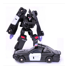 HOT Sale 10CM Transformation Cars Kid Classic Robot Car Toys For Children Action & Toy Figures Plastic Education Boy'S Gift New