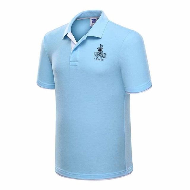 92e452634 Plus Size M-3XL dos homens Novos da Marca Polo Camisa Dos Homens Camisa de