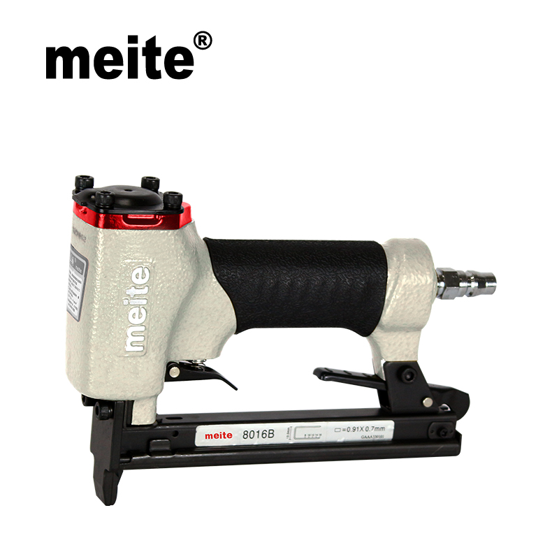 Meite 8016B High Quality Pneumatic stapler nailer gun u-type stapler air tools for make sofa/ furniture Sep.3rd Update Tool 2017 fashion sexy pointed toe women high heel pumps metal heels stiletto ladies party shoes wedding pumps