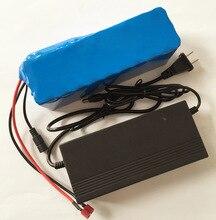 HK Liitokala 36 V 6ah 500 W 18650 batteria al litio 36 V 8AH bicicletta elettrica con la scatola IN PVC per lenergia elettrica bicicletta 42 V 2A caricatore